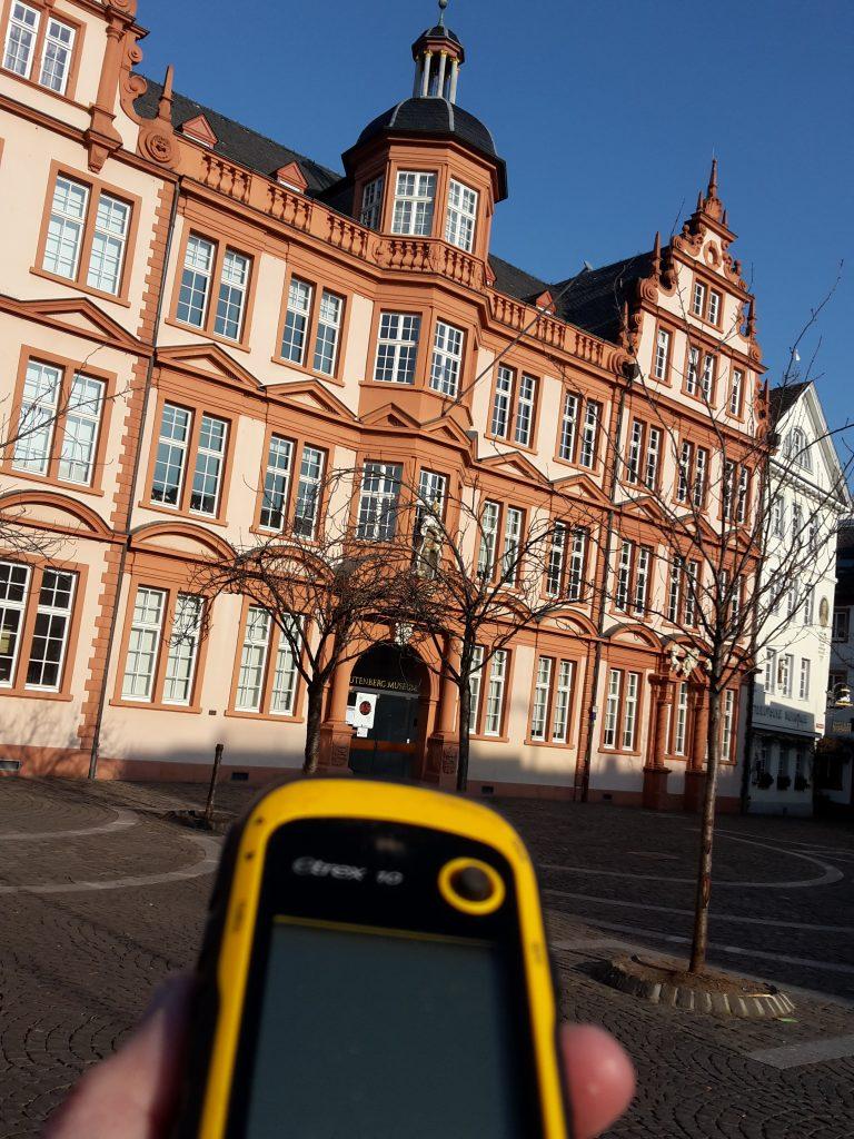 Sehenswürdigkeiten während der Schnitzeljagd in Mainz