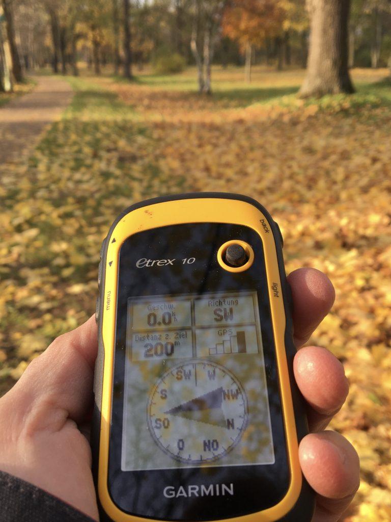 GPS im Einsatz beim Schnitzeljagd in Mainz